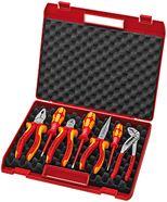 Immagine per la categoria Valigia portautensili, 7 pezzi per montaggi elettrici